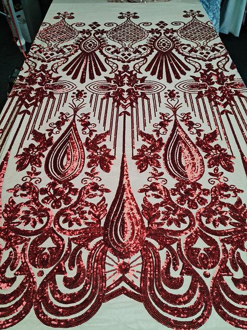 Helen Deco Sequin Red