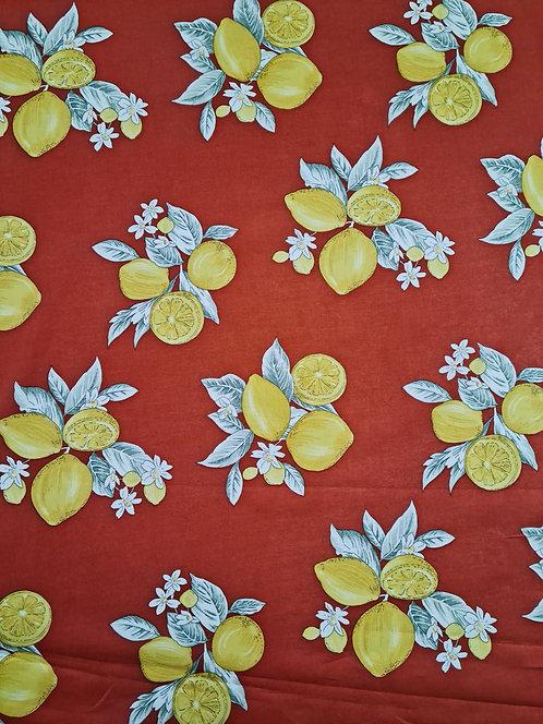Lemona Cotton Voile Rust