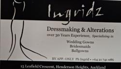 Ingrids Dressmaking