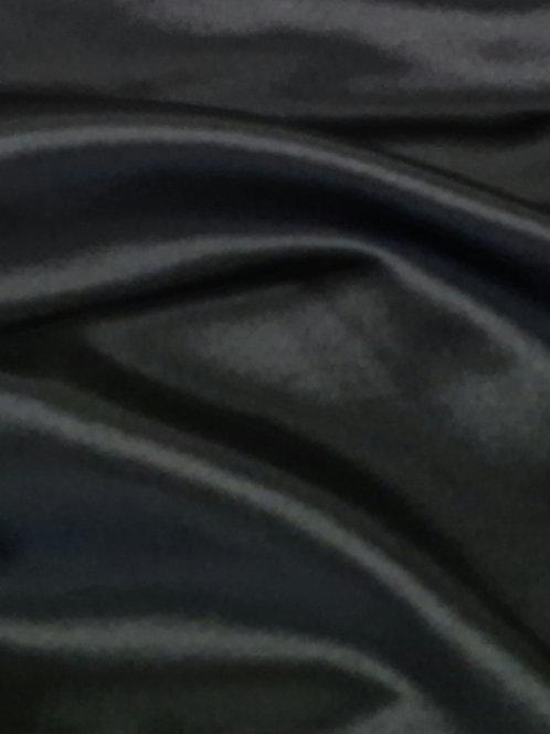 Silky Stretch Satin Black
