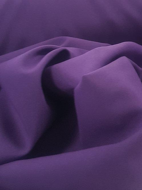 Mini Matt Polyester Suiting Cadbury Purple