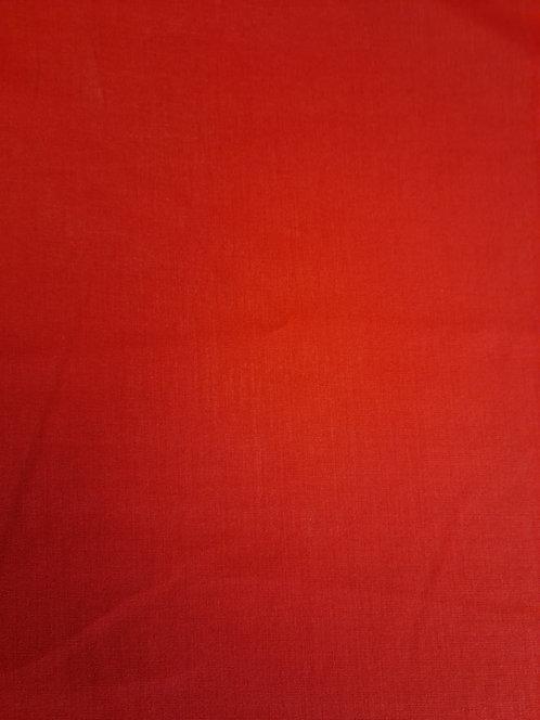 Spun Rayon Red