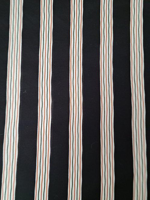 Jaggered Lines Cotton/Linen