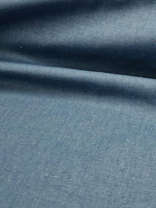 Mika Cotton Linen Mix Air Force Blue