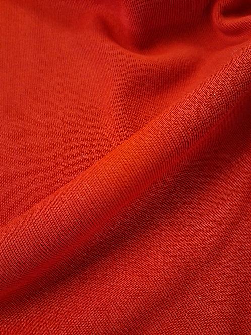Rib Knit Red 150cm circular