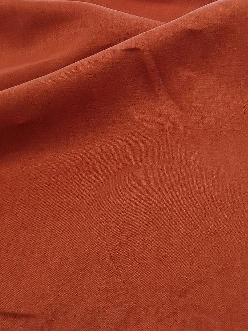 Lana 100% Linen Rust