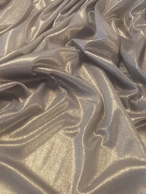 Liquid Polyester Knit Pewter
