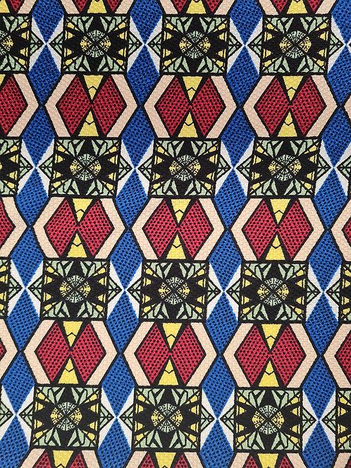 Square Check Roma Knit