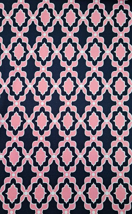 Mosiac Viscose/Polyester Knit