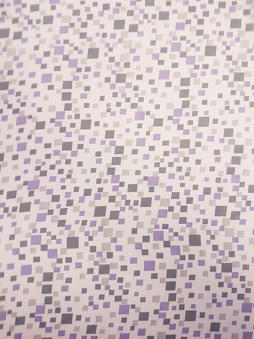 Square Pegs Polyester Chiffon Purple