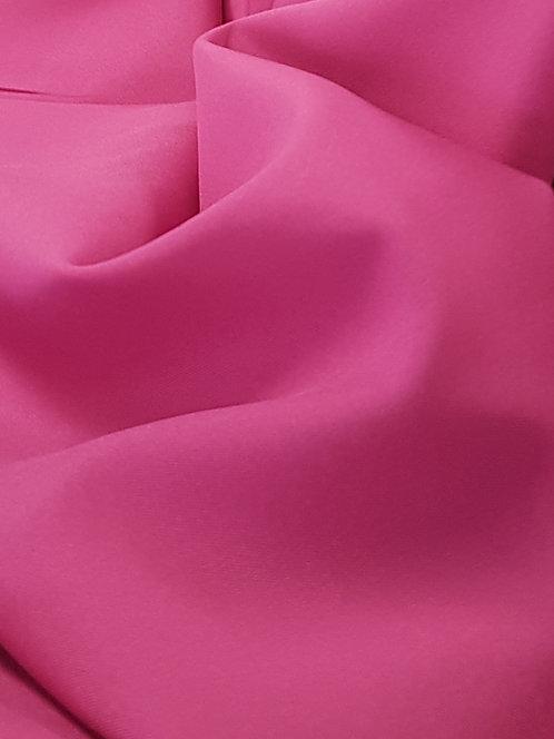Mini Matt Polyester Suiting Hot Pink