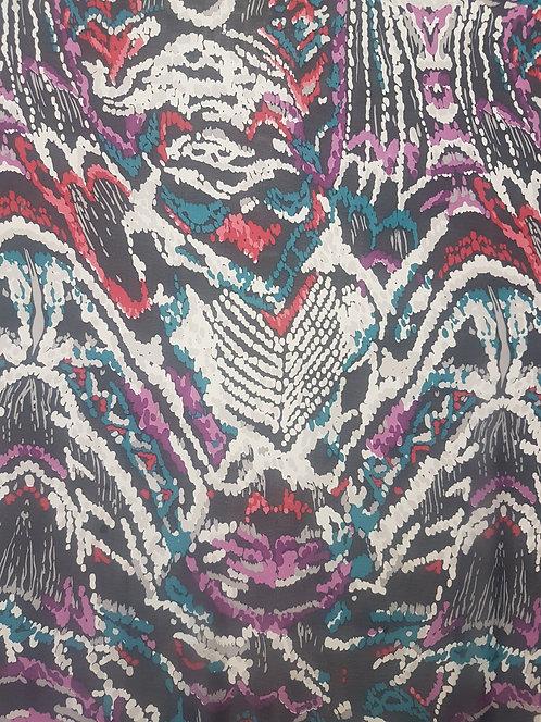 Mosiac Polyester Chiffon