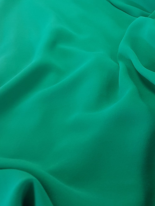 Polyester Georgette Emerald