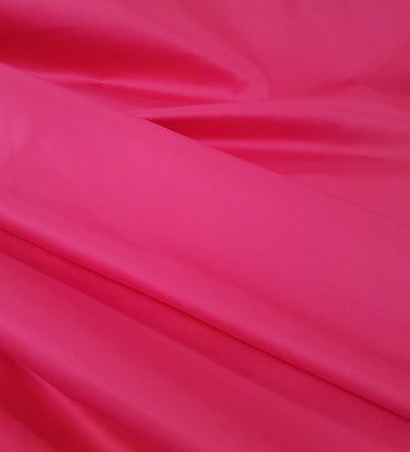 Stretch Cotton Sateen Hot Pink