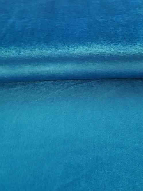 Plush Spun Stretch Velvet Turquoise