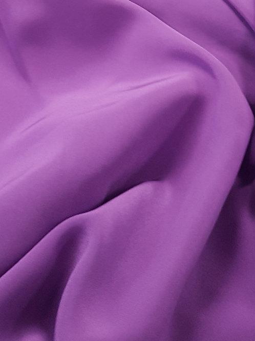 Silk Crepe De Chine Voilet
