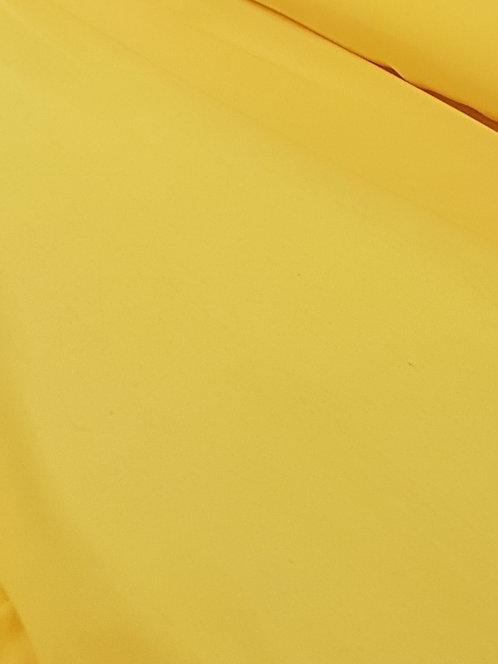Yellow Polyester Chiffon