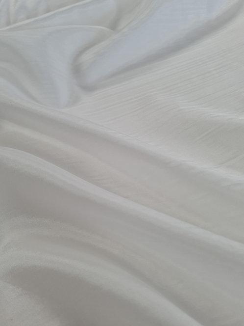 Acetate Taffeta Lining White