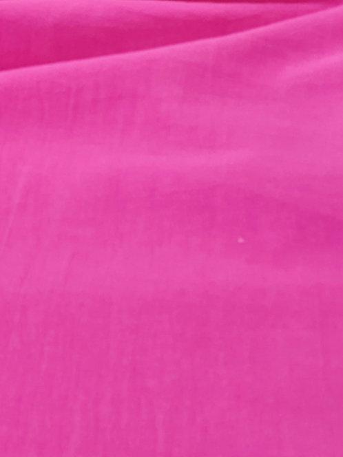 Crinkle Cotton Muslin Pink