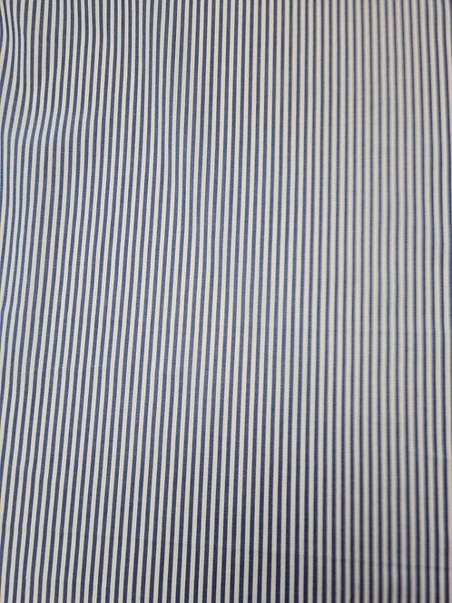 Tony Cotton Stripe Navy/White