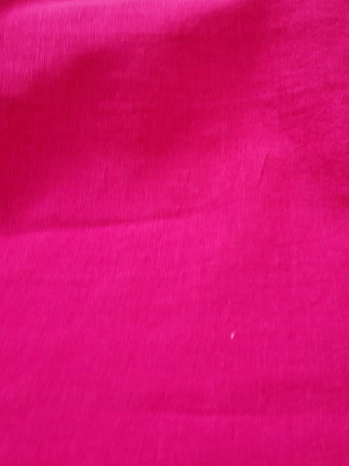 Lasio 100% Linen Hot Pink