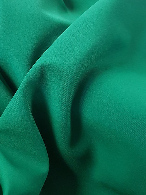 Mini Matt Polyester Suiting Emerald