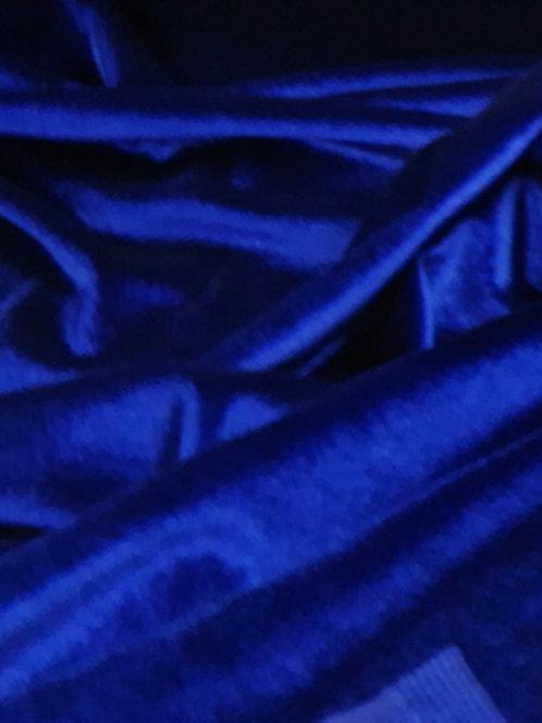 Luxury Stretch Velvet Royal Blue