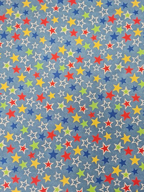 Starry Night Cotton Print