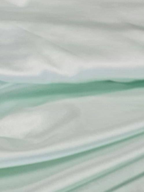 Silky Stretch Satin Mint
