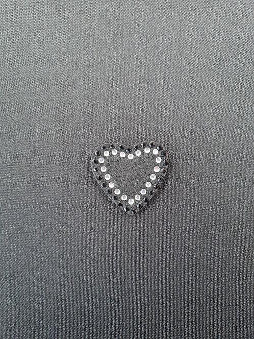 Diamante Heart Motif Small