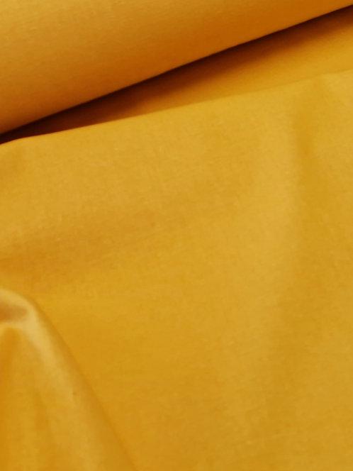 Mika Cotton Linen Mix Mustard