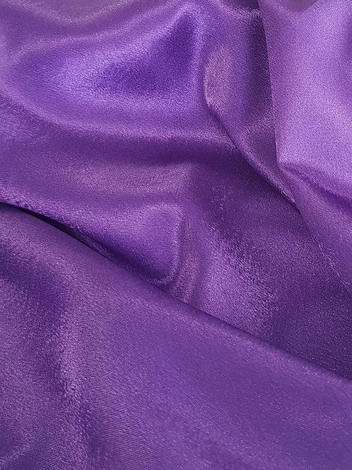 Satin Back Crepe Purple