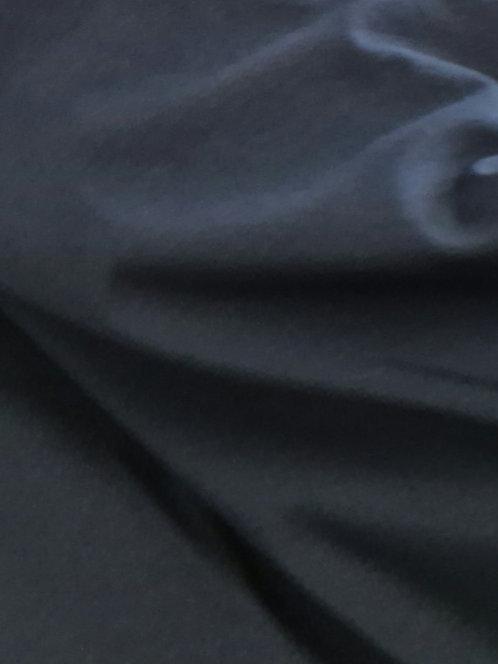 Cotton Spandex Tee Shirting Navy