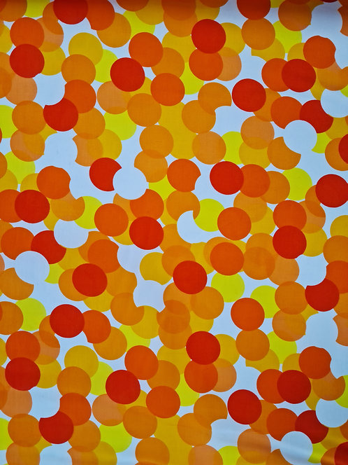 Sunburst Spotty Cotton Poplin