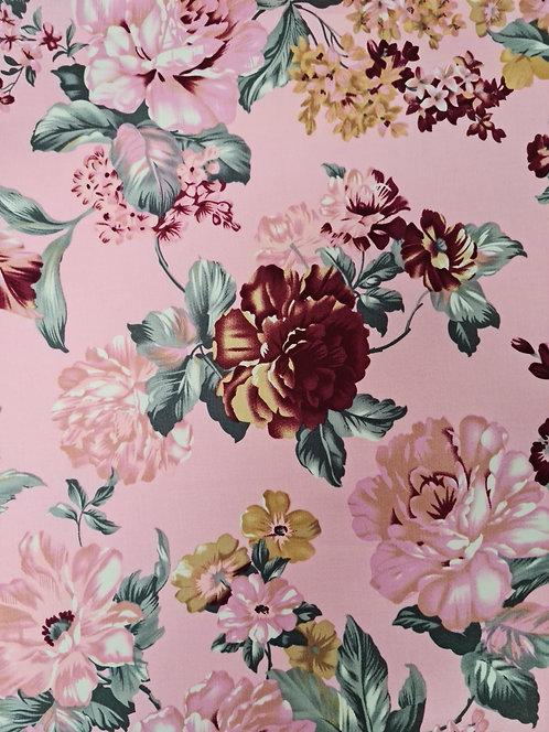 Romantic Cotton Sateen Pink