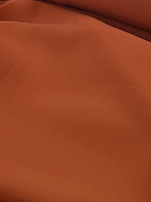 Freya Rayon Twill Gabardine Rust