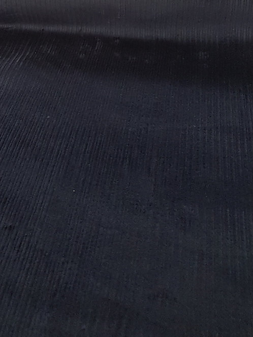 Corded Stretch Velveteen Navy