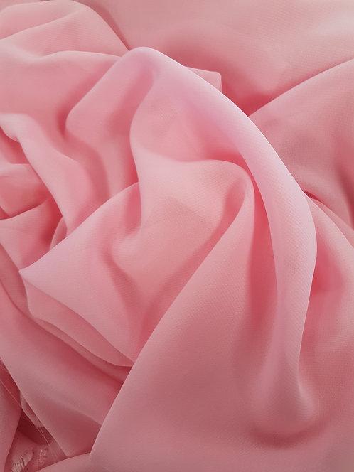 Polyester Chiffon Pink