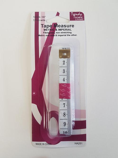Tape Measure Metric & Imperial