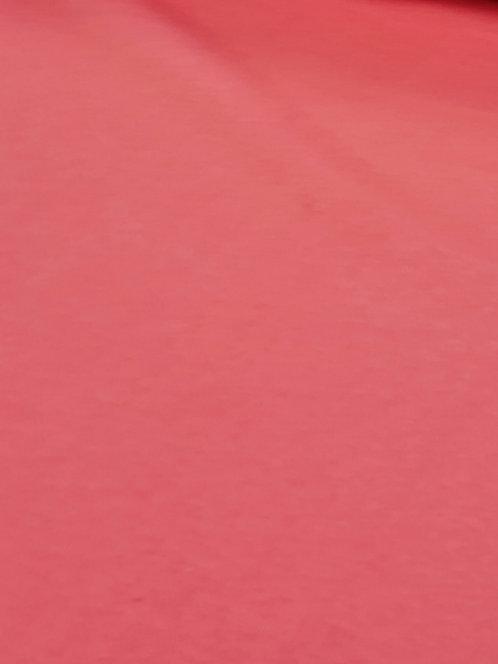 Cotton Sweatshirting Bright Pink