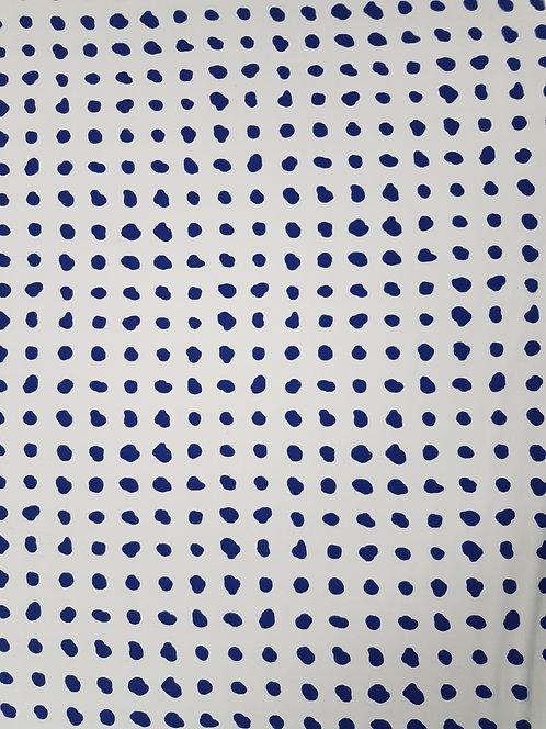 Paint Spot Crepe De Chine