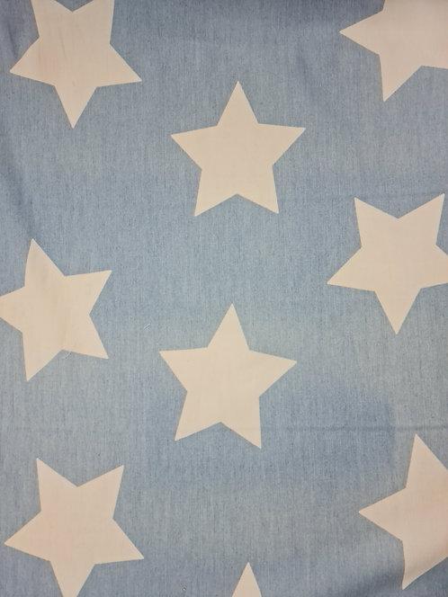 Big Star Printed Cotton Chambray