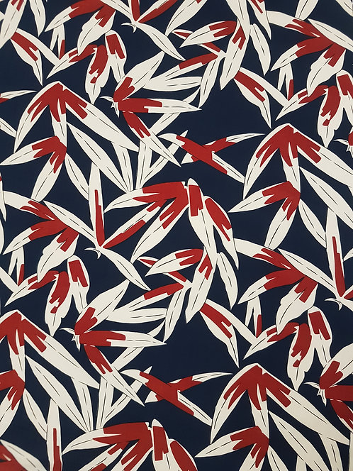 Rustic Leaves Cotton Poplin