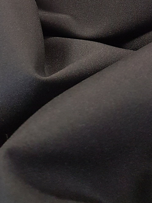 Mini Matt Polyester Suiting Black