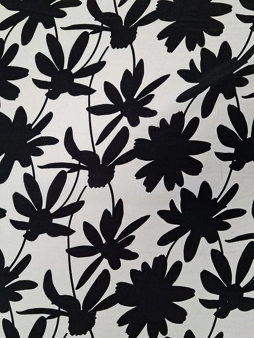 Daisy Print Rayon