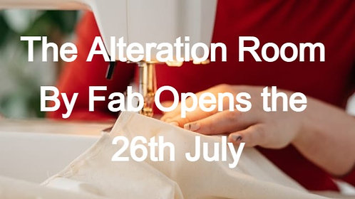 THE ALTERATION ROOM BY FAB
