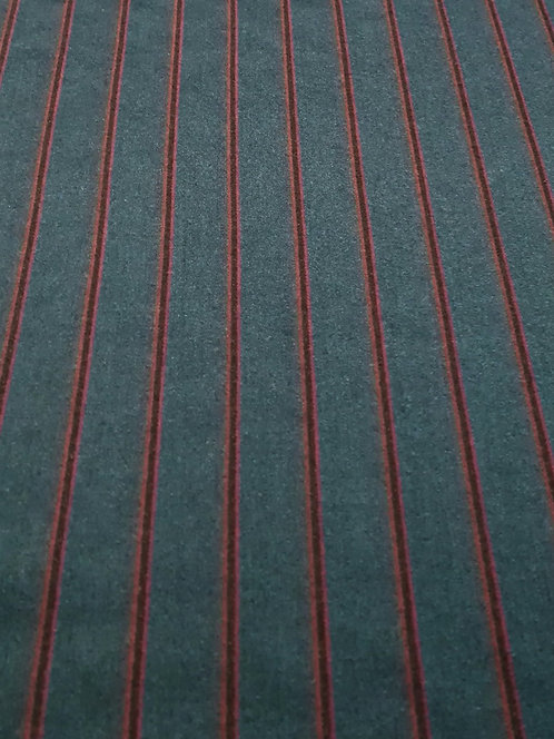 Tailor Me French Navy Stripe Suiting