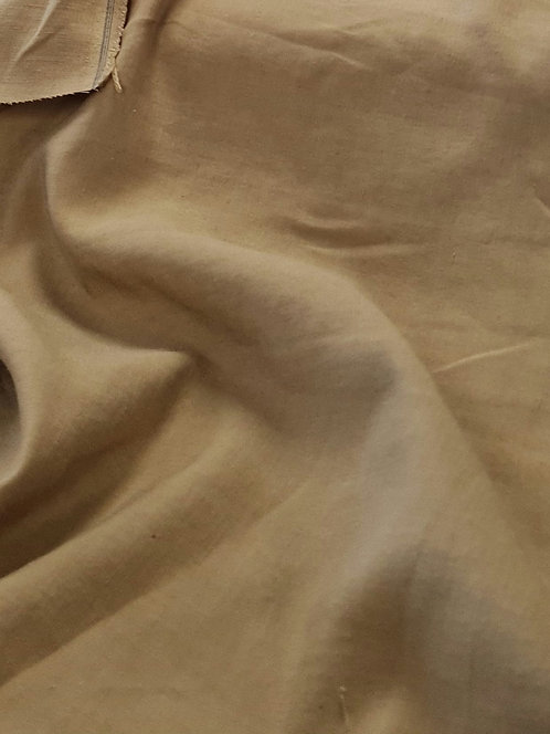 Caramel Sandwash Finish Linen/ Rayon