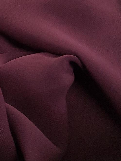 Polyester Chiffon Grape