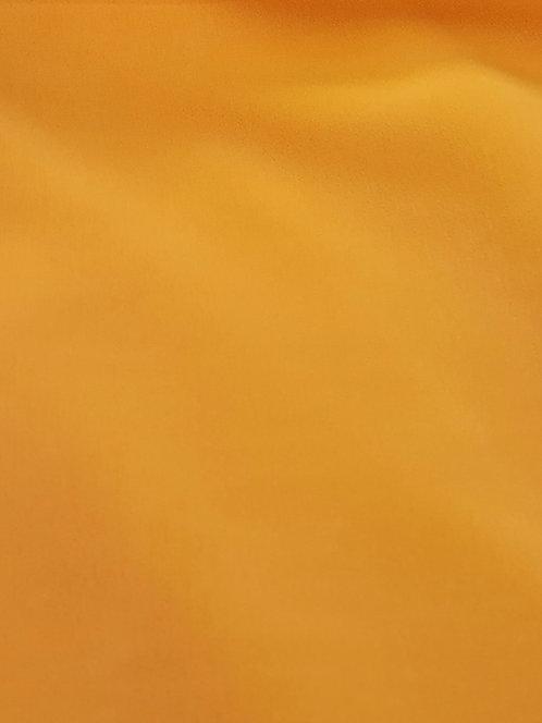 Valentina Microfibre Crepe de Chine Marigold